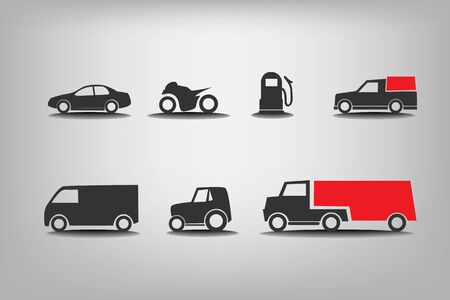 pickup truck: Transport icons