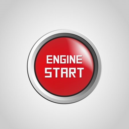 Engine start Stock Vector - 17232492