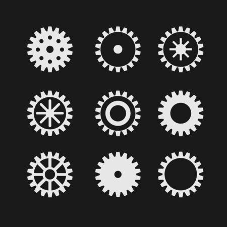gearwheel: Vector gearwheel