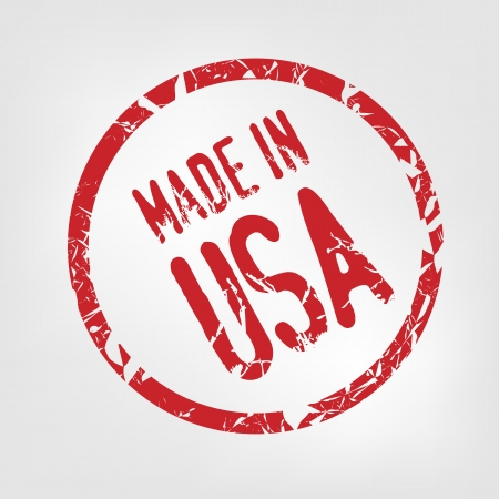 usa stamp: Made in USA stamp