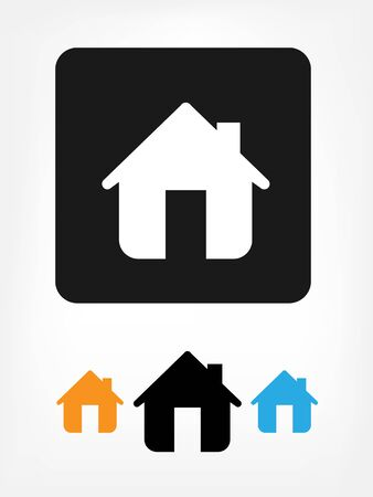 Home icons Stock Vector - 17477745