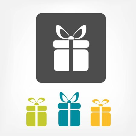 Gift icon Stock Vector - 17477751