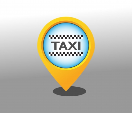 chequerboard: TAXI pointer Illustration