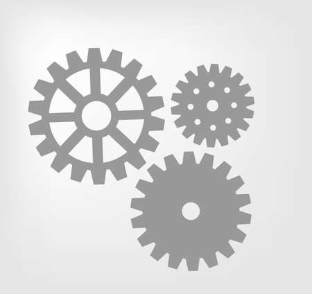 Gear mechanism Stock Vector - 17477758