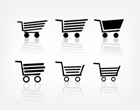Shopping cart Stock Photo - 21797808