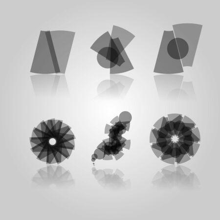 Collectio of Black Design Elements Illustration