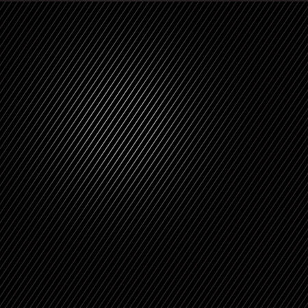 abstract carbon black background with lines Illustration