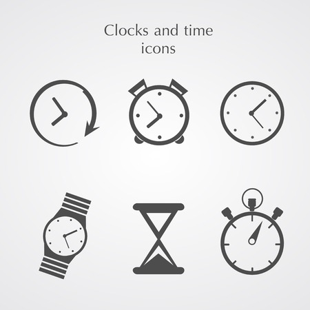 instrument of time: Clocks icons
