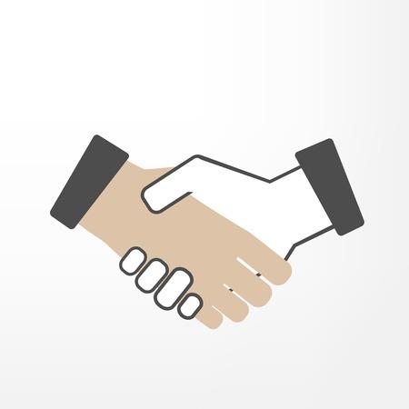 handshake icon: Shake Hand Illustration