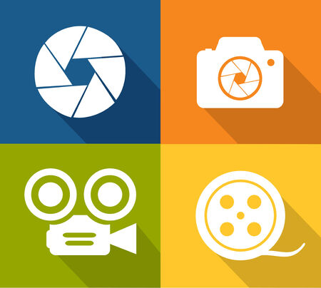 capture: Camera and shutter icons