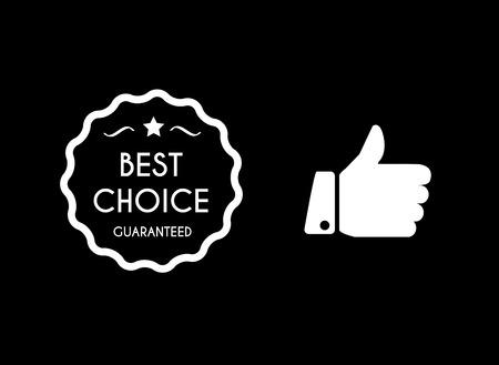 Beste keuze iconen