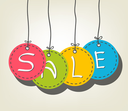 Sale Colorful tags