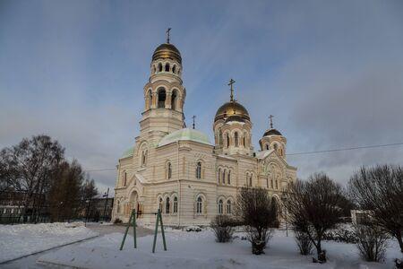 john the baptist: Church of John the Baptist. Kultaevo Stock Photo