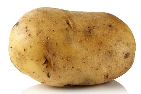 Potato isolated on white background Stock Photo - 12804657