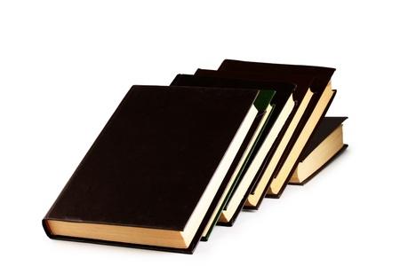 Books on a light background Stock Photo - 13046393