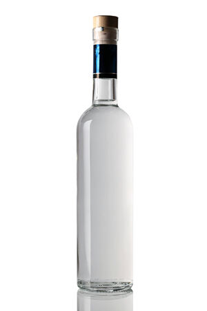 vodka: bottle of strong alcoholic beverages.