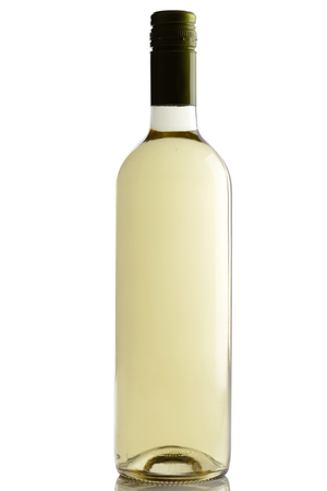 riesling: bottle of white wine
