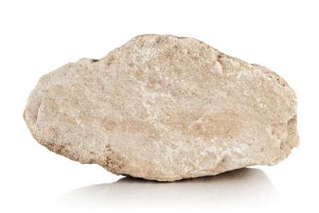 a piece of limestone on a white backgroun