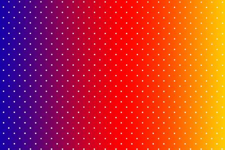 Background from small white circles on multicolored. Texture speckled
