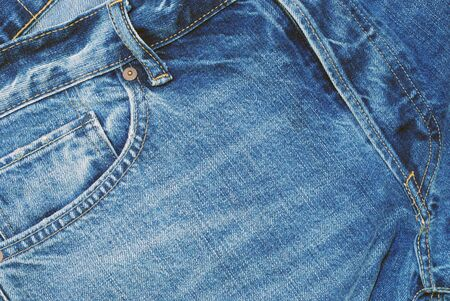 Man Jeans close-up Background Texture