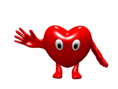 Wesoła animacja serca Zdjęcie Seryjne - 2712209