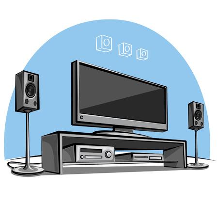 sound system: cine en casa
