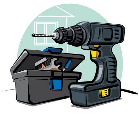 gimlet: power drill
