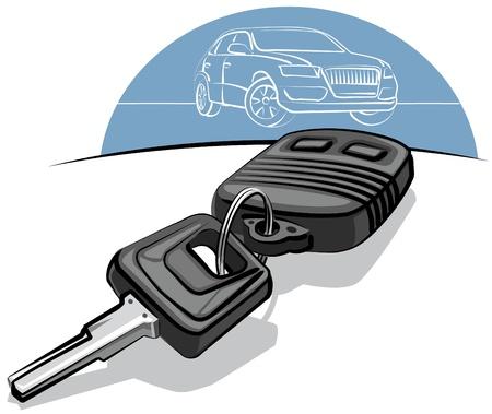 remote lock: clave de coche con mando a distancia