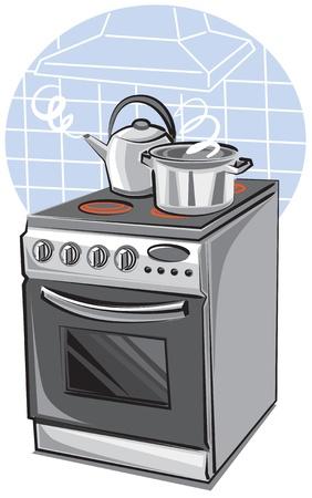cooker Stock Vector - 9602702
