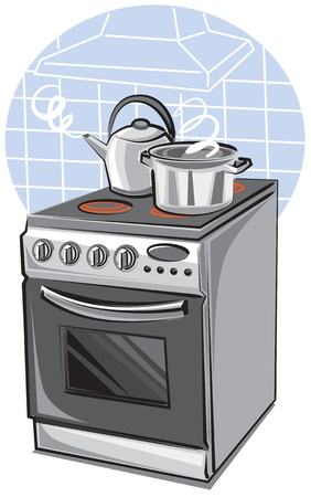 kitchen device: cooker