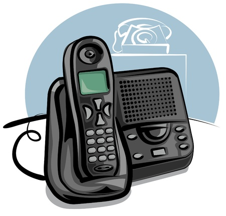 telephony: cordless phone