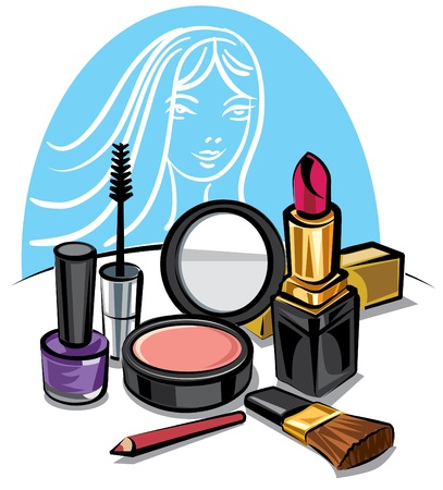 make up products: cosmetic make up kit