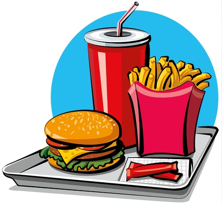 fast food Stock Vector - 9662711