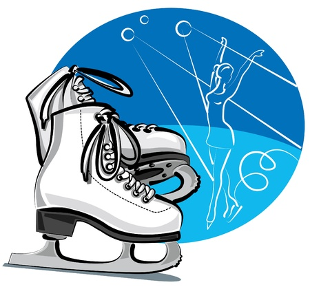 figure skate: figure skates
