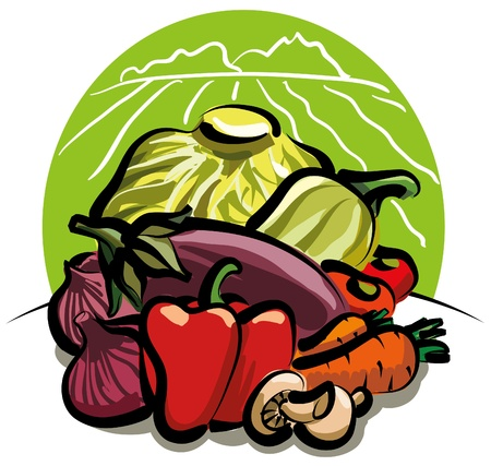 vegetales de la cosecha