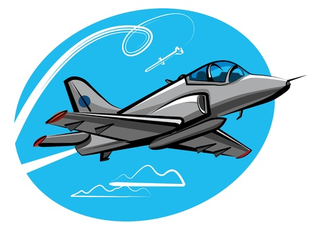 jet fighter Stock Vector - 9655557