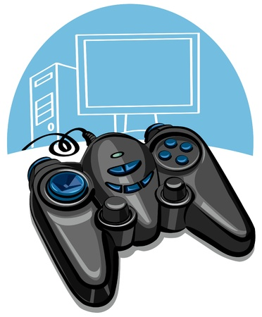 game console: game controller