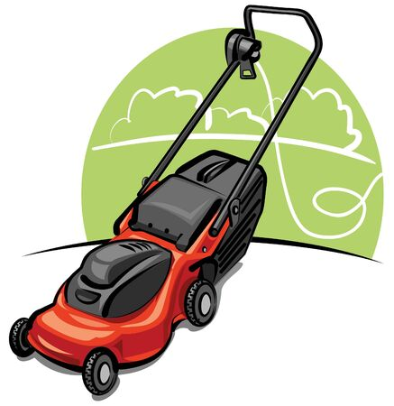 lawn mower Stock Vector - 9655556