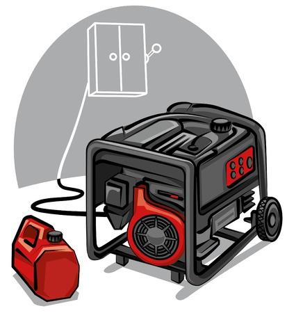 petrol can: generador de energ?a