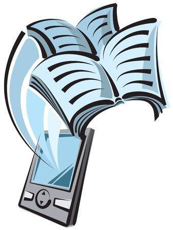 e reader: reader digital book