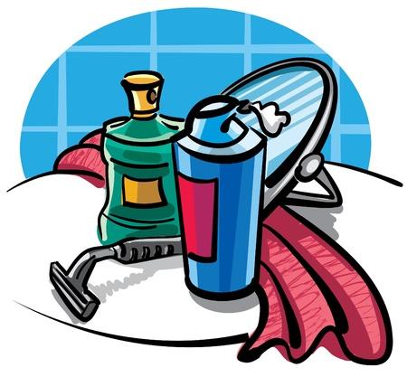 aseo personal: accesorios de afeitar