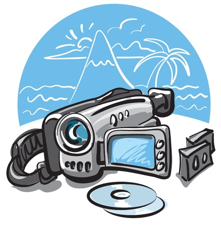 video camera Stock Vector - 9602708