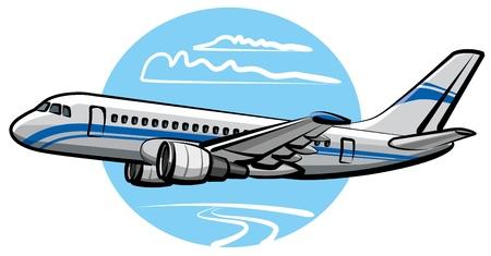 airplane mode: passenger airplane