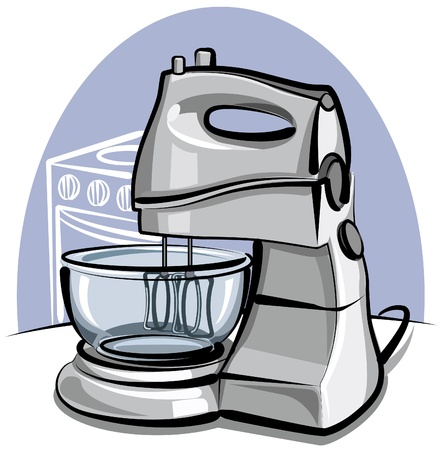 mixing: kitchen mixer