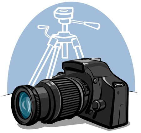 digital camera Stock Vector - 10041634