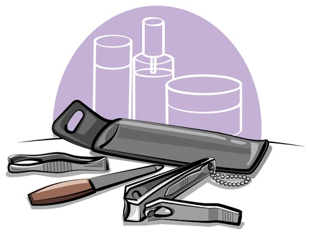 pedicure set: manicure tools