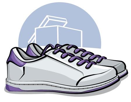 sports shoe: sneakers