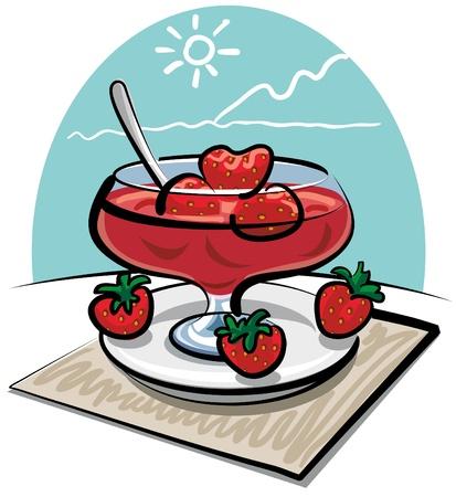preserves: mermelada de fresas