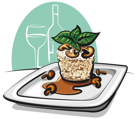 food state: risotto