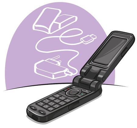 mobile phone Stock Vector - 10755125